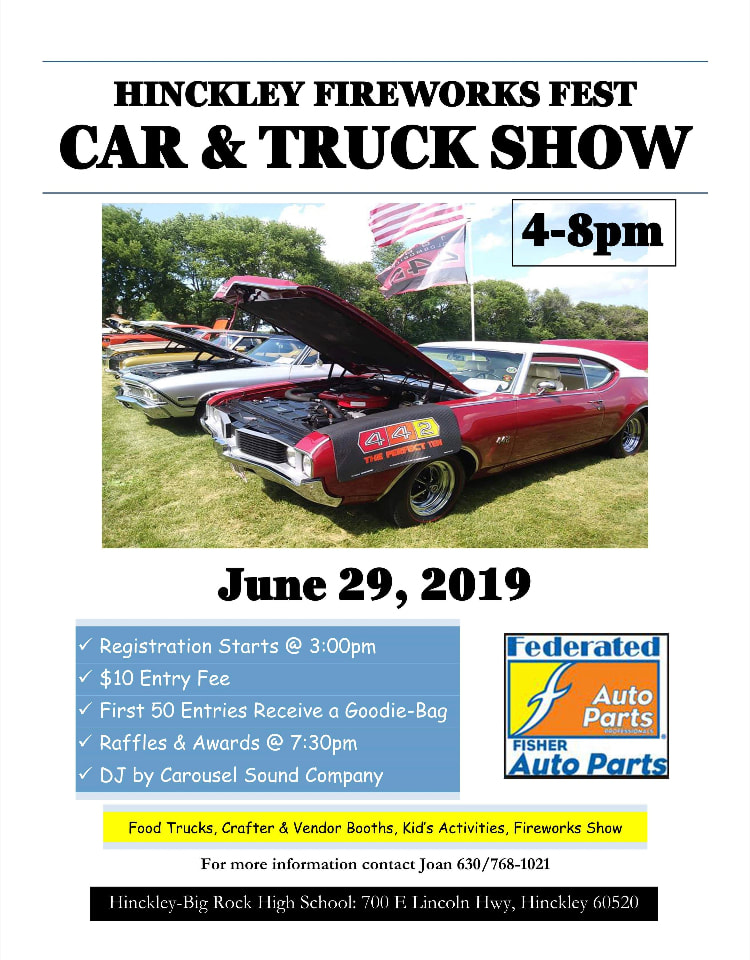 Car Show June 29th 2019 Hinckley Festival Association